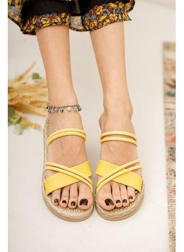 Muggo Sandalet Sarı